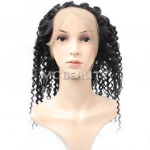 Mcbeauty Hair Curly Wave 360 Lace Frontal Closure
