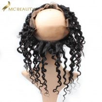 Mcbeauty Hair Deep Wave 360 Lace Frontal Closure