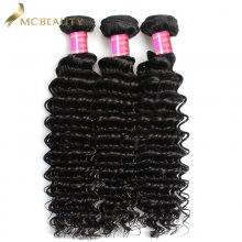 Mcbeauty Hair Brazilian Deep Wave 9A Quality 3Bundles