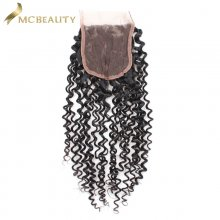 Mcbeauty Hair 4x4 Lace Closure Malaysian Curly