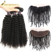 Mcbeauty Curly Wave 4x13 Lace Frontal Closure