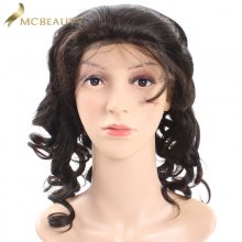 Mcbeauty Hair Mongolian Loose Wave Lace Front Wig