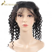 Mcbeauty Hair Mongolian Deep Wave Lace Front Wig