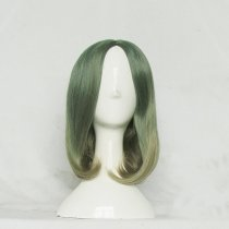 Rulercosplay Short Curly Green With Flaxen Lolita Wigs Wholesaler Resaler