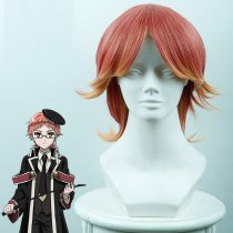 Rulercosplay Royal Teacher Henie Short Red With Yellow Ombre Anime Cosplay Wigs