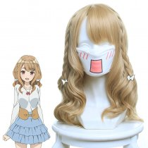 Rulercosplay I Wish I Had a Sister Shirakawa Miyako Light Brown Anime Cosplay Wigs