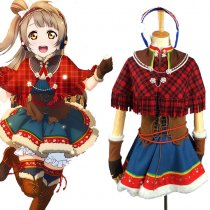 Rulercosplay LoveLive! Minami Kotori Uniform Cloth Red Cosplay Costume Wholesaler Resaler