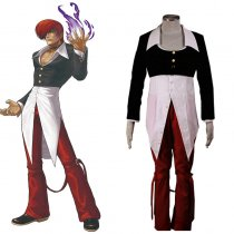 Rulercosplay The King Of Fighters' Iori Yagami Cosplay Costume Wholesaler Resaler
