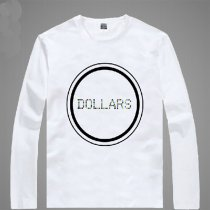 Durarara Animation Products Shizuo Heiwajima Orihara Izaya Image T-shirts Cotton White Long Sleeves