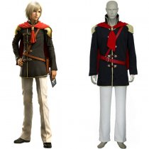 Rulercosplay Final Fantasy XIII Agito Boy Uniform Black Cosplay Costume Wholesaler Resaler