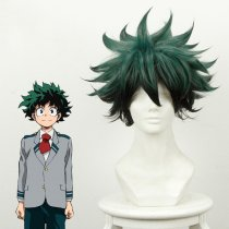 Rulercosplay Boku No Hero Academia Midoriya Izuku Green And Black Ombre Anime Cosplay Wigs