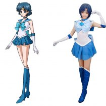 Rulercosplay Sailor Moon Mizuno Ami Sailor Mercury Blue Cosplay Costume Wholesaler Resaler