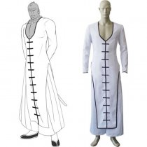 Rulercosplay Bleach Séptima Espada Zommari Rull White Cosplay Costume Wholesaler Resaler