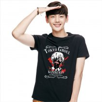 Tokyo Ghoul Fashion Cotton Animation T-shirt Black