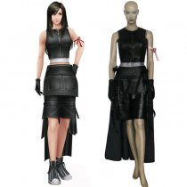 Rulercosplay Final Fantasy VII Tifa Lockhart Black Cosplay Costume Wholesaler Resaler