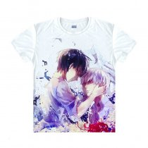Tokyo Ghoul Fashion Animation White Smooth Decron T-shirt 024 More Patterns