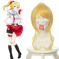 Rulercosplay LoveLive! Eli Ayase Blonde Heat Resistant Fiber Cosplay Anime Wigs Wholesaler Resaler