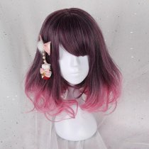 Rulercosplay Sweet Harajuku Original Coraline Mixed Ombre Lolita Wigs