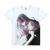 Tokyo Ghoul Fashion Animation White Smooth Decron T-shirt 020 More Patterns