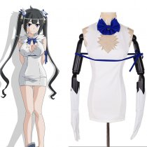 Rulercosplay Is It Wrong To Try To Pick Up Girls In A Dungeon? Hestia White Cosplay Costume Wholesal