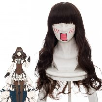 Rulercosplay Code:Realize~ Cardiya Beckford Long Curly Brown Anime Cosplay Wigs