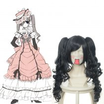 Rulercosplay Black Butler Ciel Phantomhive Long  Curly Anime Cosplay Wigs Wholesaler Resaler