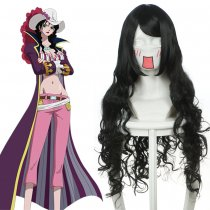 Rulercosplay One Piece Alvida Long Black Cosplay Anime Wigs Wholesaler Resaler