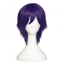Rulercosplay LoveLive! Nozomi Tojo Male Version Short Blue Heat Resistant Fiber Cosplay Anime Wigs W
