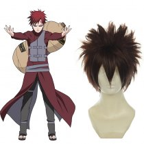 Rulercosplay Heat Resistant Fiber Inspired By Naruto Gaara Short Brown Anime Wigs Wholesaler Resaler