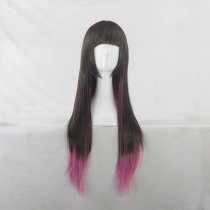 Rulercosplay Long Straight Brown With Rose Harajuku Lolita Wigs Wholesaler Resaler