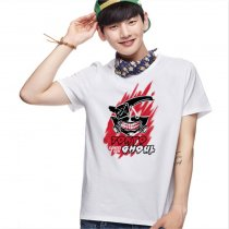Tokyo Ghoul Fashion Animation White Cotton T-shirt Adult