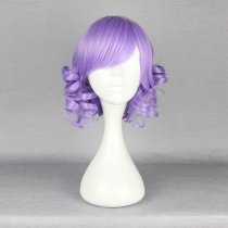 Rulercosplay Short Curly Light Purple Lolita Fashion Wigs Wholesaler Resaler