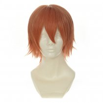 Rulercosplay LoveLive! Rin Hoshizora Male Version Short Orange Heat Resistant Fiber Cosplay Anime Wi