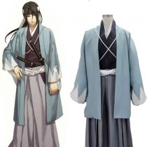 Rulercosplay Hakuouki Hijikata Toshizo Blue Cosplay Costume Wholesaler Resaler