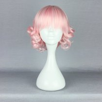 Rulercosplay Short Curly Pink Lolita Fashion Wigs Wholesaler Resaler