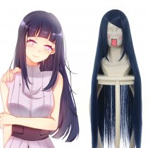 Rulercosplay Naruto Hinata Hyuga Long Blue Cosplay Anime Wigs Wholesaler Resaler