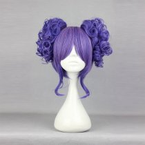 Rulercosplay Short Curly Ponytails Purple Lolita Wigs Wholesaler Resaler