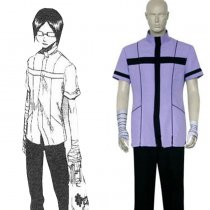 Rulercosplay Bleach Uryuu Ishida Shirt Uniform Purple Cosplay Costume Wholesaler Resaler