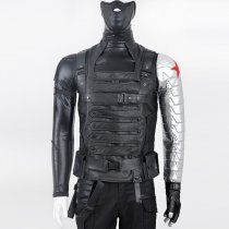 Captain America 2 The Winter Soldier Anime Cosplay Costumes