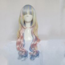 Rulercosplay Long Curly Mixed Color Harajuku Lolita Wigs Wholesaler Resaler