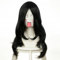 Rulercosplay Naruto Neji Hyuga Long Black Cosplay Anime Wigs Wholesaler Resaler