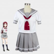 Rulercosplay Lovelive! Sunshine! Aquours Gray Uniform Cloth Cosplay Costume Wholesaler Resaler