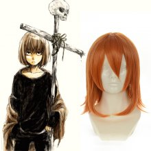 Rulercosplay Death Note Mello Short Orange Red Anime Cosplay Wigs Wholesaler Resaler