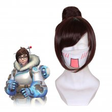 Rulercosplay Overwatch Mei Short Brown Cospaly Wigs Wholesaler Reseller
