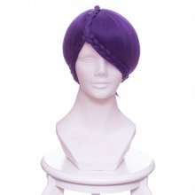 Rulercosplay Land of the Lustrous Amethyst Twins Purple Braid Special Styling Anime Cosplay Wigs