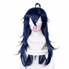 Rulercosplay And You Thought There Is Never A Girl Online? Ako Tamaki Purple Curly Long Cosplay Wigs