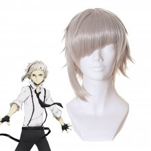 Rulercosplay Stray Dogs Atsushi Nakajima Light Gray Anime Cosplay Wigs Wholesale resale