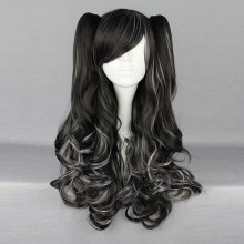 Rulercosplay Long Black And White Gothic Lolita Wigs Wholesaler Resaler