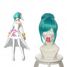 Rulercosplay Short Vocaloid Miku Light Blue Anime Cosplay Wigs Wholesaler Resaler