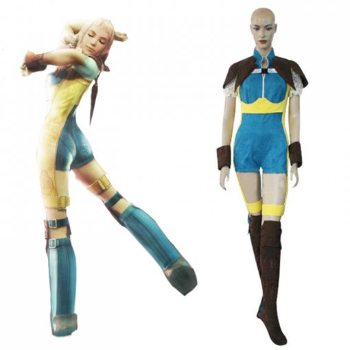 Rulercosplay Final Fantasy XII Penelo Blue Cosplay Costume Wholesaler Resaler